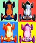 Andy Warhol - Benz voiture de course
