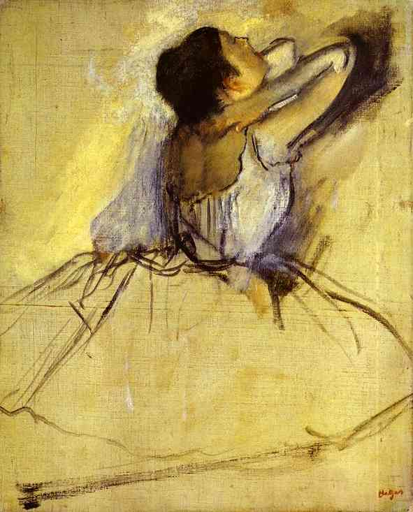 'Dancer (Danseuse)', huile de Edgar Degas (1834-1917, France)