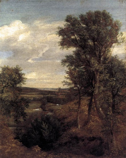 'Dedham Vale', huile de John Constable (1776-1837, United Kingdom)