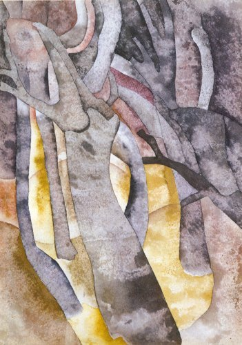 'Charles Demuth - Arbre Formulaires 1916 - approximatif ...', aquarelle de Charles Demuth (1883-1935, United States)