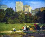 Edward Henry Potthast - Dans Central Park