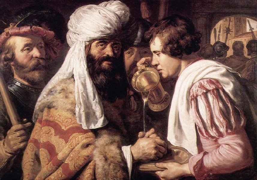 Pilate se lave les mains de Jan Lievens (1607-1674, Netherlands ...