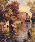 Louis Aston Knight - Sunny Afternoon sur le canal