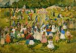 Maurice Brazil Prendergast - May Day, de Central Park 1
