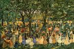Maurice Brazil Prendergast - May Day, de Central Park
