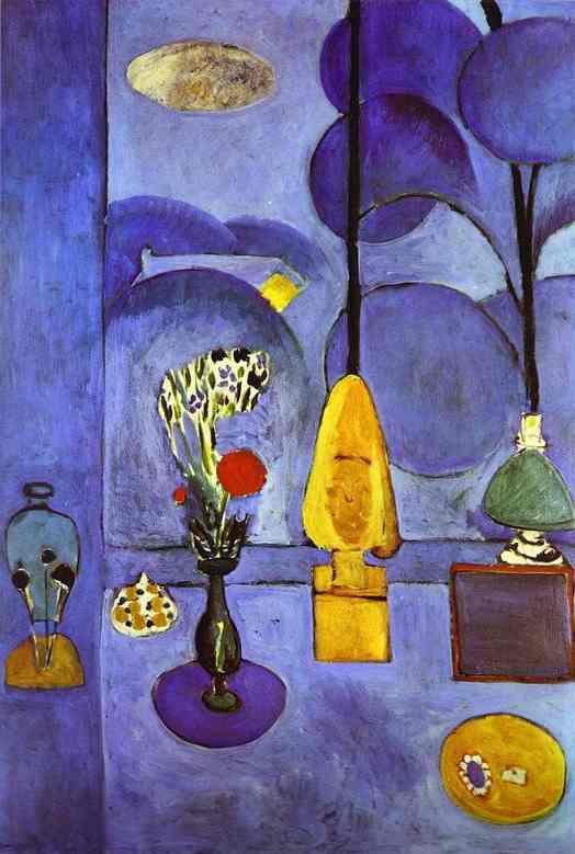 The blue window henri matisse for Henri matisse fenetre