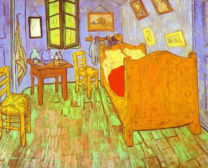 van gogh 39 s bedroom in arles saint r my vincent van gogh. Black Bedroom Furniture Sets. Home Design Ideas