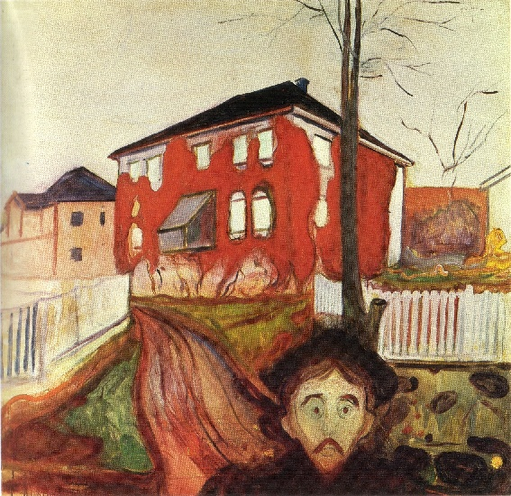 la vigne vierge rouge 1898 1900 de edvard munch 1863 1944 norway. Black Bedroom Furniture Sets. Home Design Ideas
