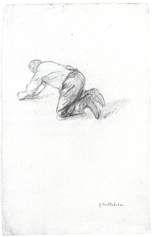 Les Raboteurs De Parquet 233 Tude Gustave Caillebotte