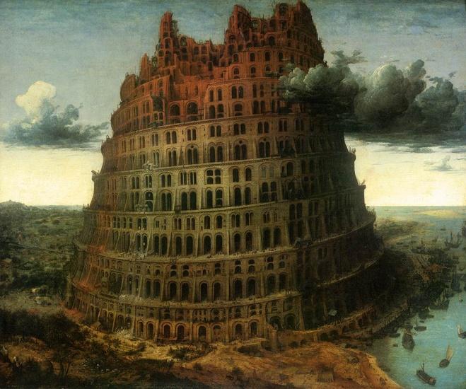 La Petite Tour de Babel (Pieter Bruegel the Elder)