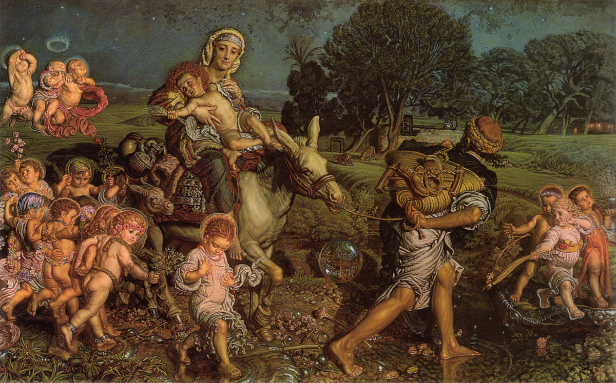 Le triomphe des Innocents (William Holman Hunt)