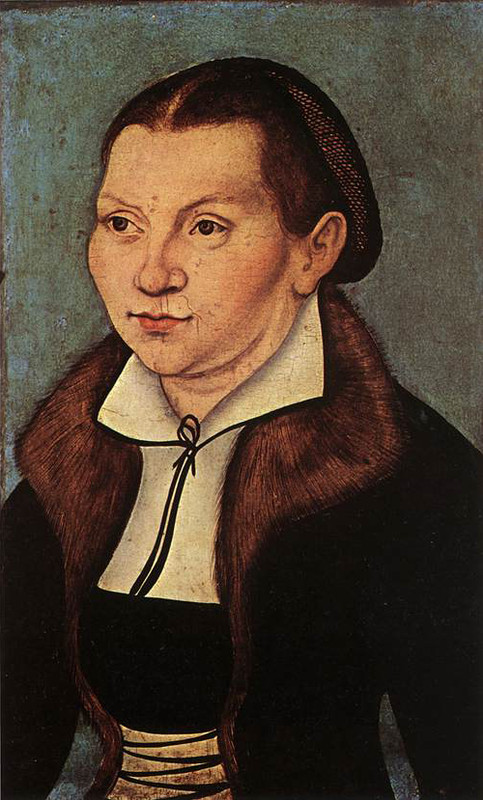 Portraits de Catherine Alésage (Lucas Cranach the Elder)