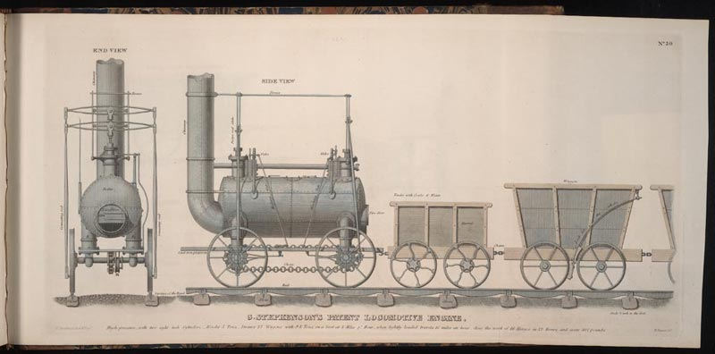 Brevet Locomotive Engine (Benjamin Tanner)