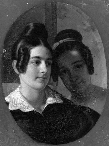 Mme Beale Thayer et Mlle Sarah Blanchard (Francis Alexander)