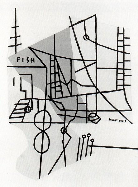 Shapes of Landscape Space (Stuart Davis)
