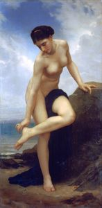 William Adolphe Bouguereau - Après le bain 1875