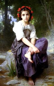 William Adolphe Bouguereau - Le Brook