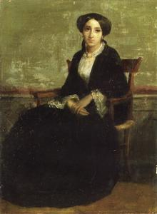 William Adolphe Bouguereau - Un portrait de Geneviève