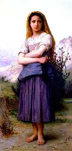 William Adolphe Bouguereau - Bergère 1886