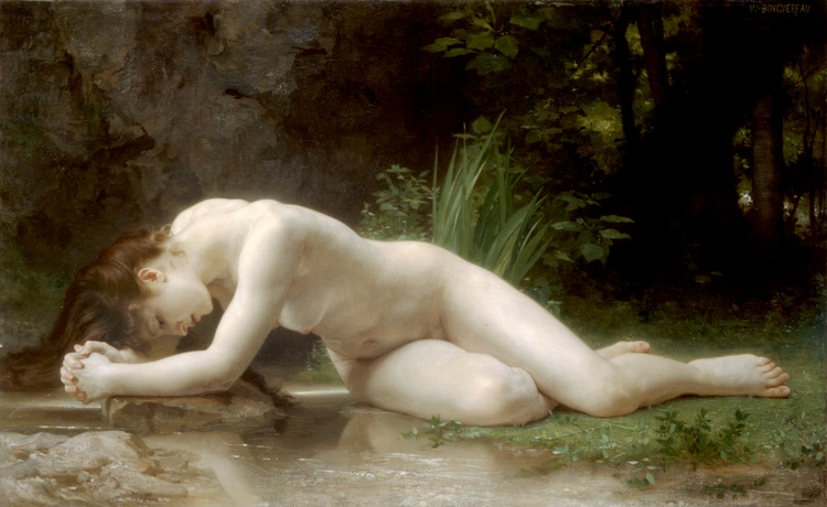 Biblis, Huile de William Adolphe Bouguereau (1825-1905, France)