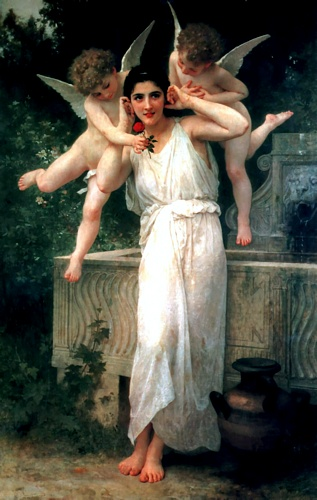 Jeunes de William Adolphe Bouguereau (1825-1905, France) | Copie Tableau | WahooArt.com