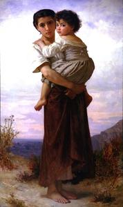 William Adolphe Bouguereau - Jeune gitan