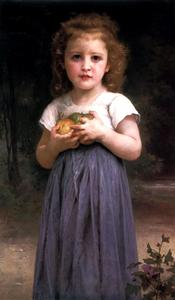 William Adolphe Bouguereau - Maiden et enfants