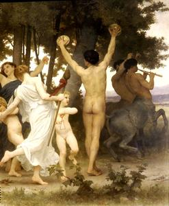 William Adolphe Bouguereau - Jeunesse de Bacchus droit dt