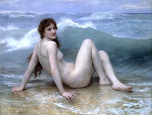 William Adolphe Bouguereau - le onde