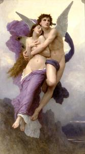 William Adolphe Bouguereau - Le Ravissement de Psyché