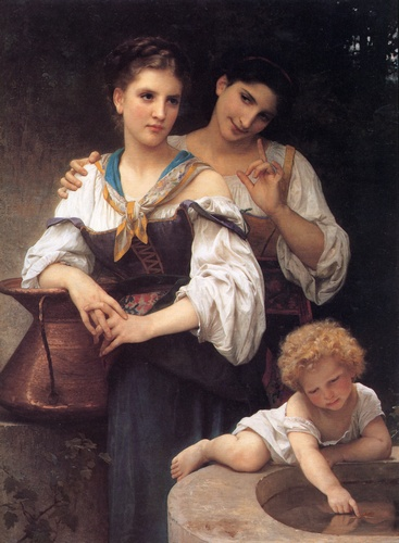 Le secret de William Adolphe Bouguereau (1825-1905, France) | Reproductions D'art Sur Toile | WahooArt.com