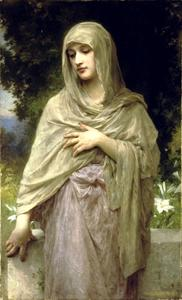 William Adolphe Bouguereau - Modestie