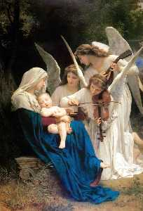 William Adolphe Bouguereau - Chanson des anges