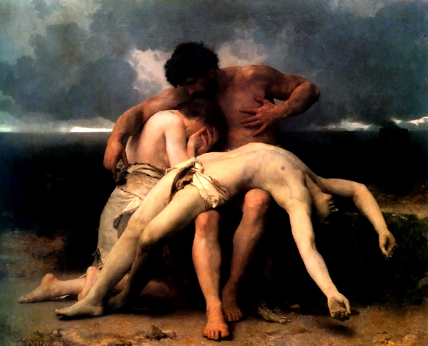 Le premier deuil de William Adolphe Bouguereau (1825-1905, France) | WahooArt.com