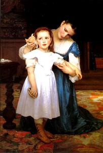 William Adolphe Bouguereau - Le Shell