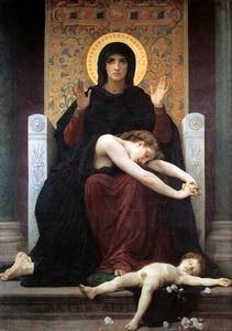 William Adolphe Bouguereau - Couette Vierge