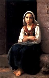 William Adolphe Bouguereau - Yvonette