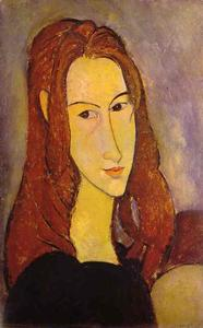 Amedeo Modigliani - Portrait d une fille