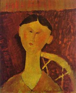 Amedeo Modigliani - Portrait de Beatrice Hastings