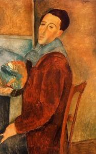 Amedeo Modigliani - autoportrait