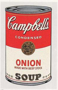 Andy Warhol - Campbell-S soupe can ( oignon )
