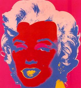 Andy Warhol - Marylin Rouge