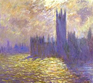 Claude Monet - Maisons du Parlement Londres