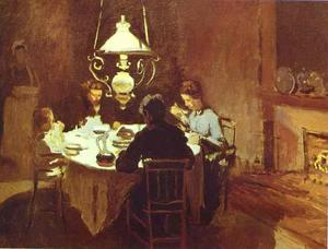 Claude Monet - Le dîner