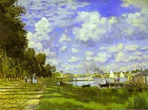Claude Monet - le port d-argenteuil