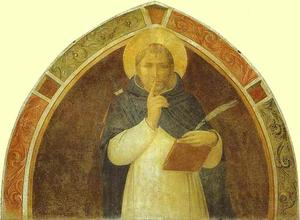 Fra Angelico - peter martyr se joint au silence