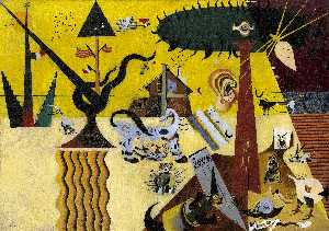Joan Miro - Le champs labourés