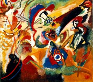 Wassily Kandinsky - Fragment 2 pour composition vii