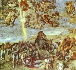 Michelangelo Buonarroti - conversion des saint paul