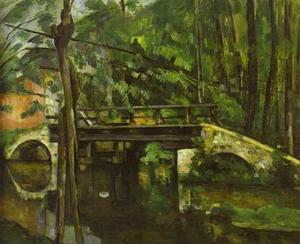 Paul Cezanne - Le pont de Maincy